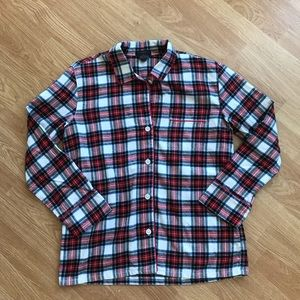J. Crew Flannel Pajama Top
